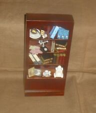 1:12 Maßstab Natürliche Ausführung Luxus Ecke Regal Puppenhaus Möbel 125