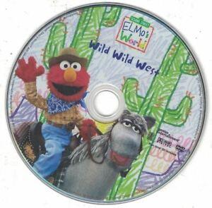 Details About Wild Wild West Elmo S World Sesame Street Dvd Disc Only