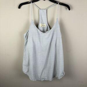 Cloth-amp-Stone-Womens-Tank-Top-Size-Small-Striped-100-Tencel-II