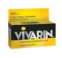 Vivarin Caffeine Alertness Aid, Tablets 16 Ea (pack Of 5) on sale