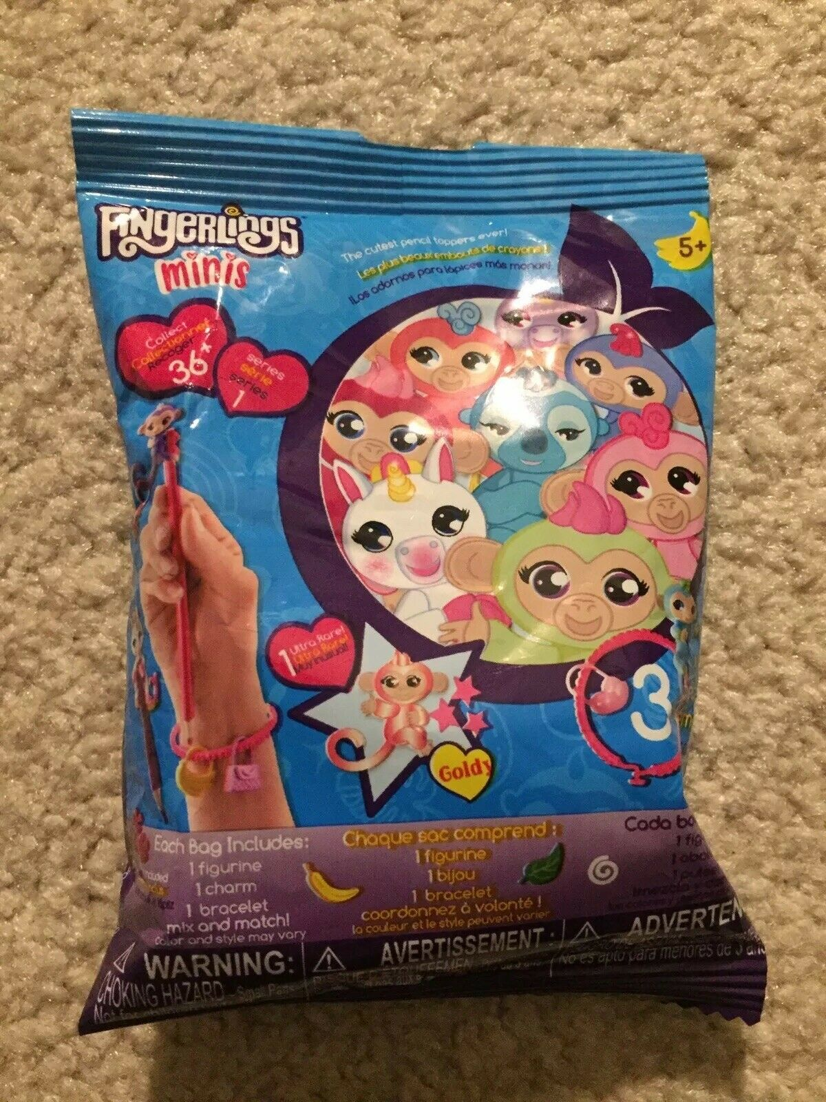 by Wowwee SERIES 1 27c FingerLings minis Blind Bag