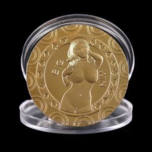 Gold-Sexy-Women-Souvenir-Coin-Commemorative-Challenge-Coin-Art-Collection-YEDE