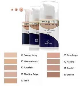 max factor color adapt foundation
