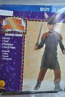 Viking Warrior Child Costume, Tunic/headpiece/pants, Boy-size: Small (6)