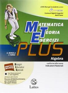 Matematica teoria esercizi Plus + DVD e-book espansione online Vol 3 ALGEBRA