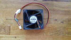Zalman-8cm-case-fan-p-n-PS80252H-MB-connection-has-noiseless-resistor-fitted