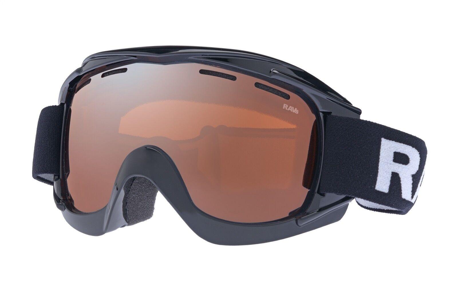 Ravs Occhiali da Alpino Snowboard Alpino da Maschera Sci Protettivi Anti-nebbia b6742d