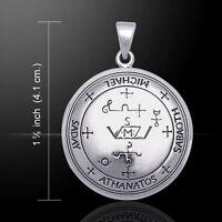Sigil Of Archangel Michael Sterling Silver Pendant By Peter Stone Fine Jewelry