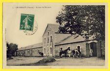 cpa France 86 - LHOMMAIZÉ (Vienne) ANNEXE de REMONTE de L'ARMÉE Haras Chevaux