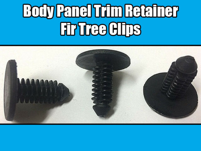 BLACK 6992.95 10x PEUGEOT//CITROEN FIR TREE RETAINING CLIP TRIM CLIP