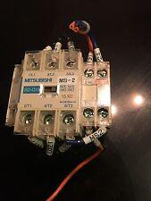 Mitsubishi Model Sd Q19 Magnetic Contactor Starter Unit Module 24vdc Free Ship S