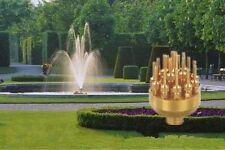 "1"" Inch 3 Layers Fountain Nozzle 17 Sprinklers Spray Head Pond Pool Brass 40 Kpa"