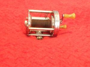 vintage shakespeare leader 1909 model fd level wind casting reel excellent ebay