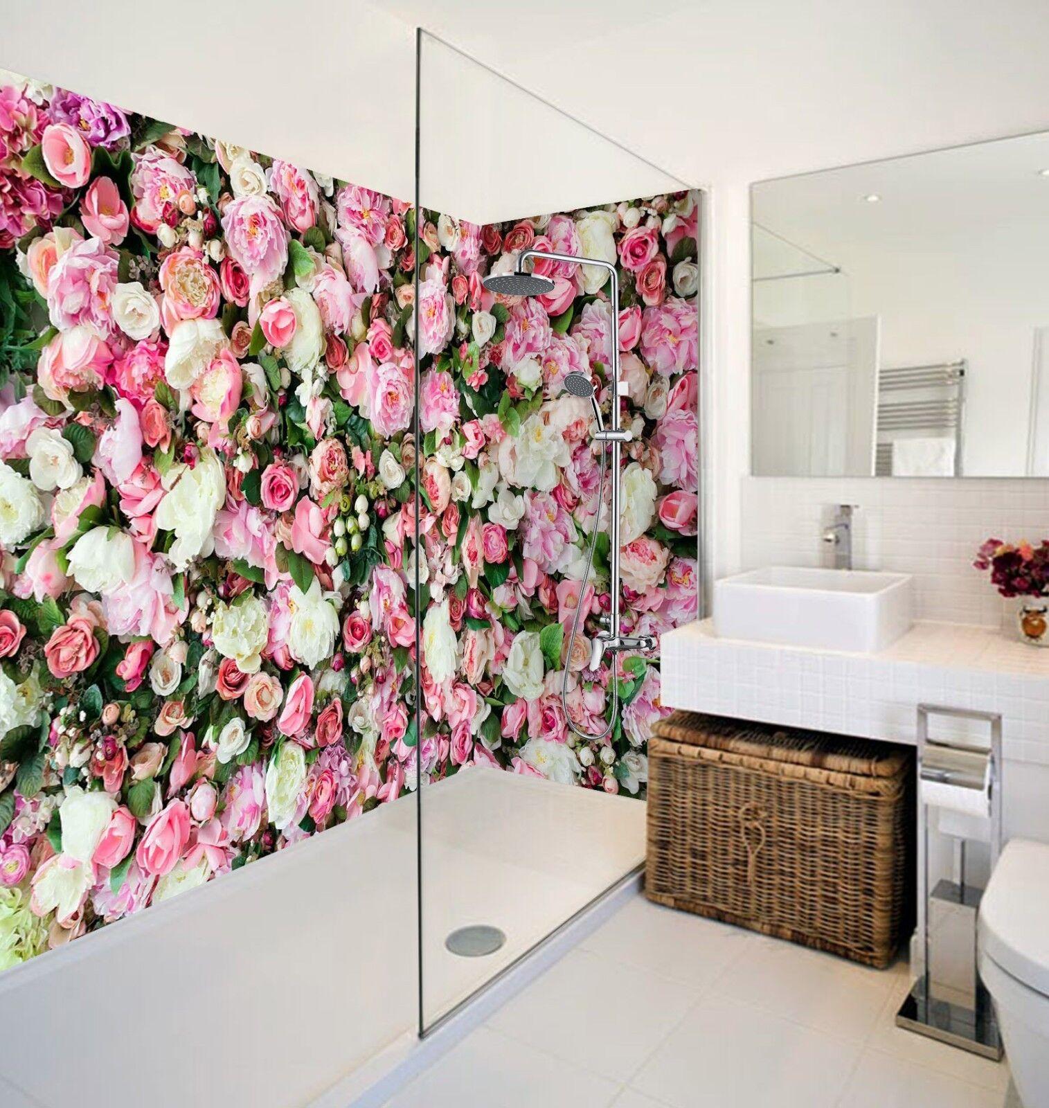 3D Romantic pinks 578 WallPaper Bathroom Print Decal Wall Deco AJ WALLPAPER AU