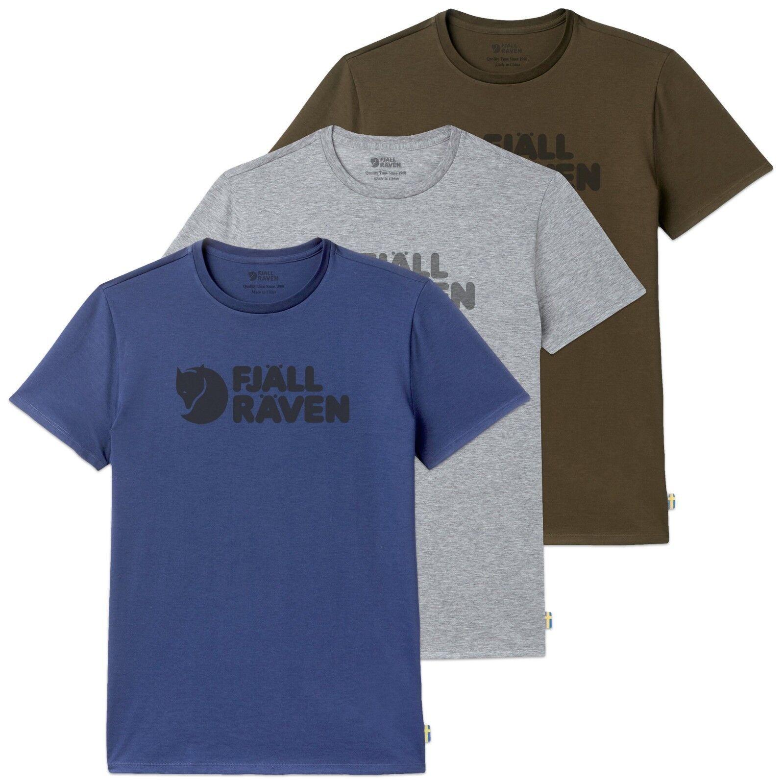 Fjallraven T-Shirts - Fjallraven Logo Tee - grau, Tarmac, Deep Blau - BNWT  | Große Klassifizierung  | Viele Stile  | Nutzen Sie Materialien voll aus