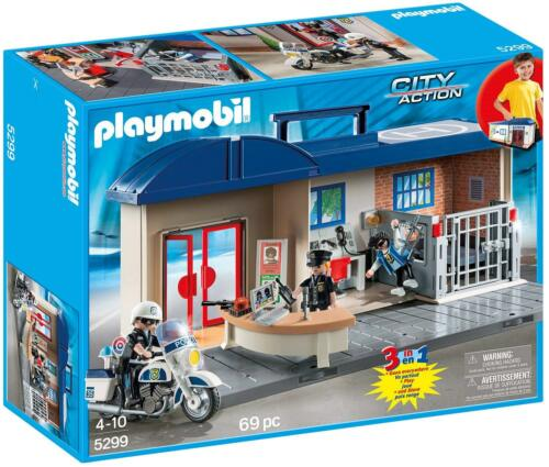 Mitnehm-Polizeizentrale NEU OVP Playmobil 5299 City Action
