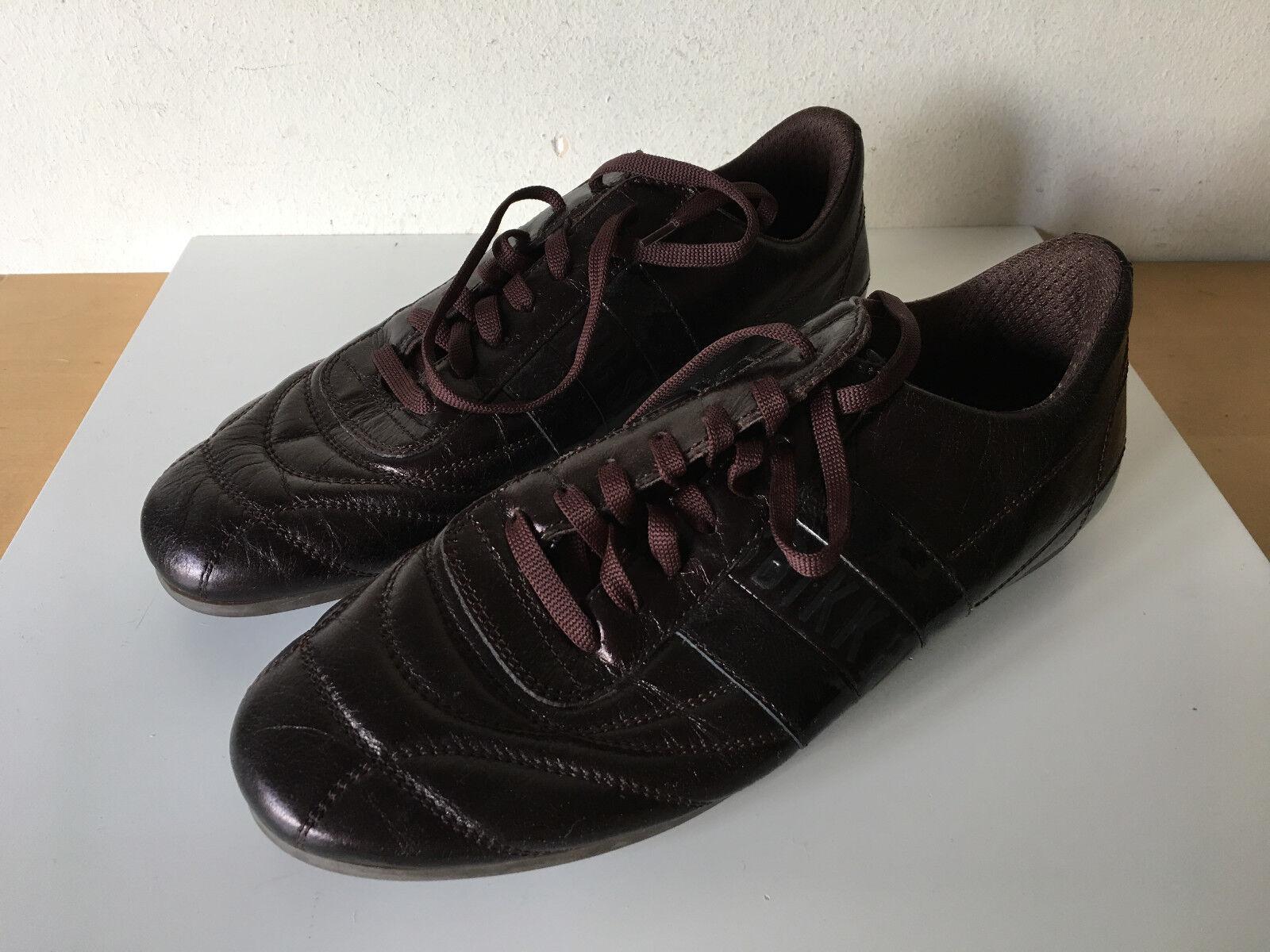LITTLE LITTLE LITTLE Used - Sport zapatos BIKKEMBERGS Zapatos Deportivos - Dark marrón - Nº 40  barato y de alta calidad