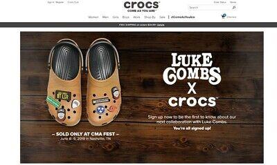 Luke Peines X Crocs Ebay
