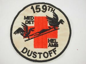 159th-Medical-detachement-helicoptere-ambulance-depoussierer-patch-Vietnam-era