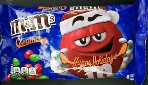 M-amp-M-039-S-Christmas-Caramel-Chocolate-Candy-10-2-Ounce-Bag