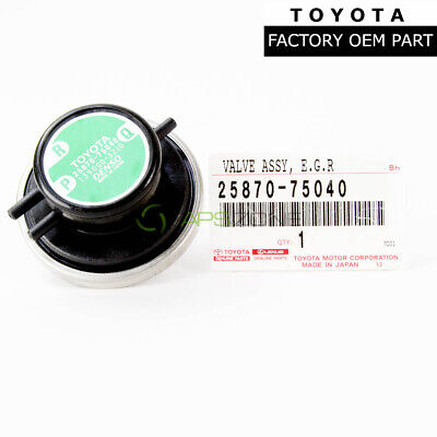 Genuine Toyota 25870-16240 EGR Valve Assembly