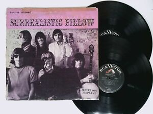 JEFFERSON-AIRPLANE-Surrealistic-Pillow-LP-RCA-Victor-LSP-3766-psychedelic-1967