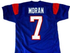 Alex Moran  7 Mountain Goats Football Jersey Blue State TV Uniform ... 48556d09e