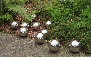 Elegant Image Is Loading 10x100mm Stainless Steel Balls Garden Spheres Pond Ball
