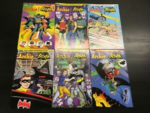 Archie-meets-Batman-039-66-Vol-1-1-6-set-Archie-Comics-DC-Comics