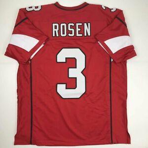 New-JOSH-ROSEN-Arizona-Red-Custom-Stitched-Football-Jersey-Size-Men-039-s-XL