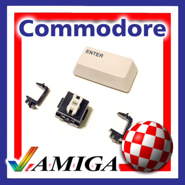 2019 Nieuwste Ontwerp Commodore Amiga 1000 Enter (numeric Keypad) Key Cup Replacement