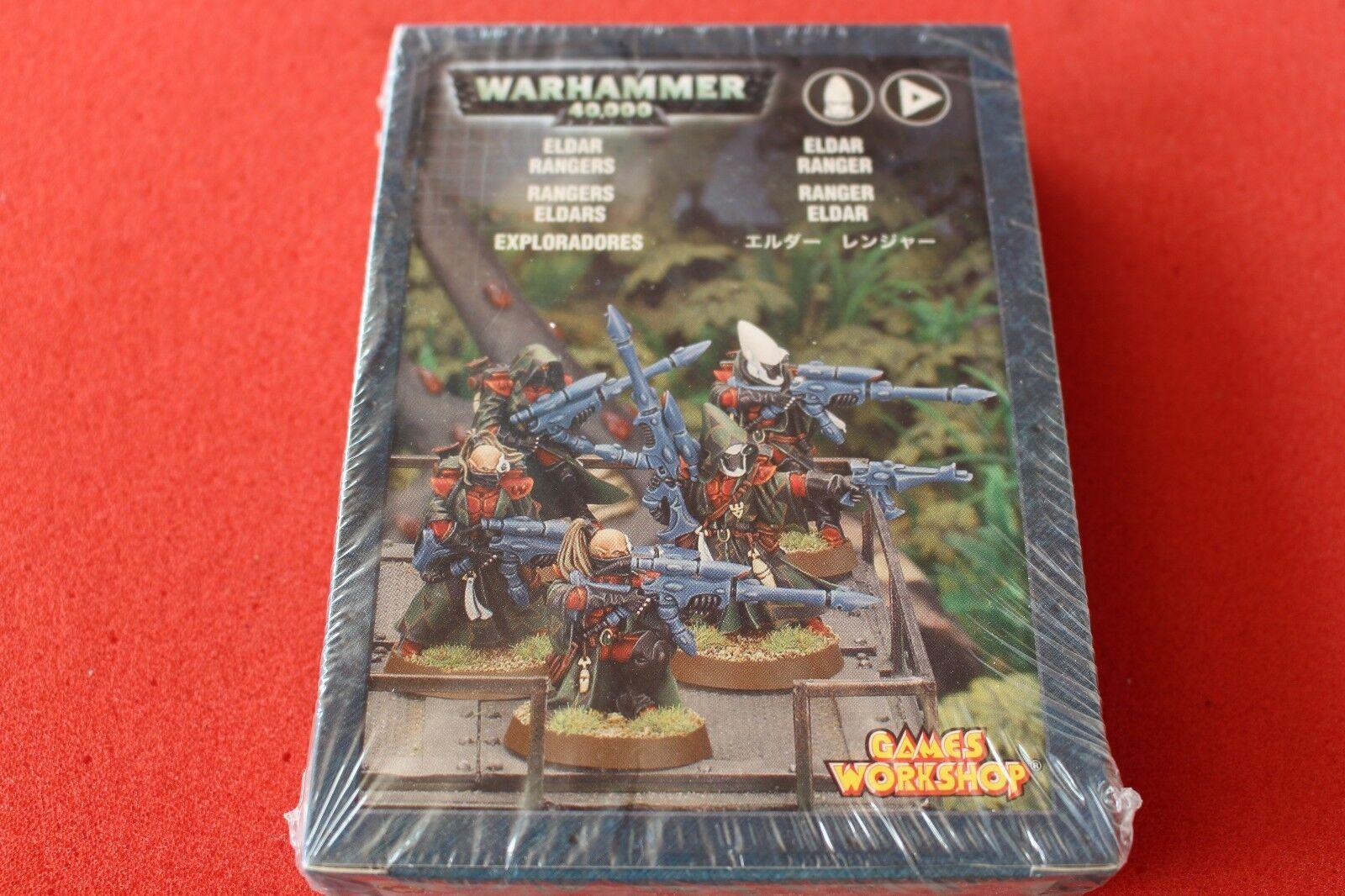 giocos lavoronegozio WARHAMMER  40k Eldar Rangers SCOUTS squadra in mettuttio in scatola NUOVO FUORI CATALOGO  economico in alta qualità