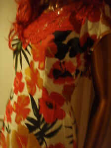 New-top-quality-Boden-floral-lined-red-cotton-amp-lace-dress-RRP-59-FREE-P-amp-P