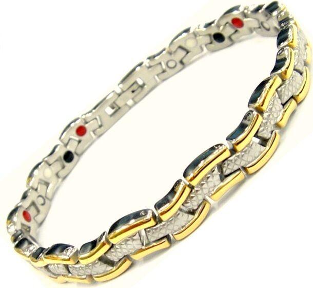 Magnetic Energy Germanium  Power Bracelet Health 4in1 Bio Armband  cuff magnet