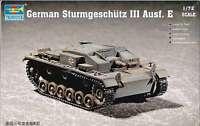 1/72 German Sturmgeschütz Iii Ausf. E Trumpeter Model Kit 7258