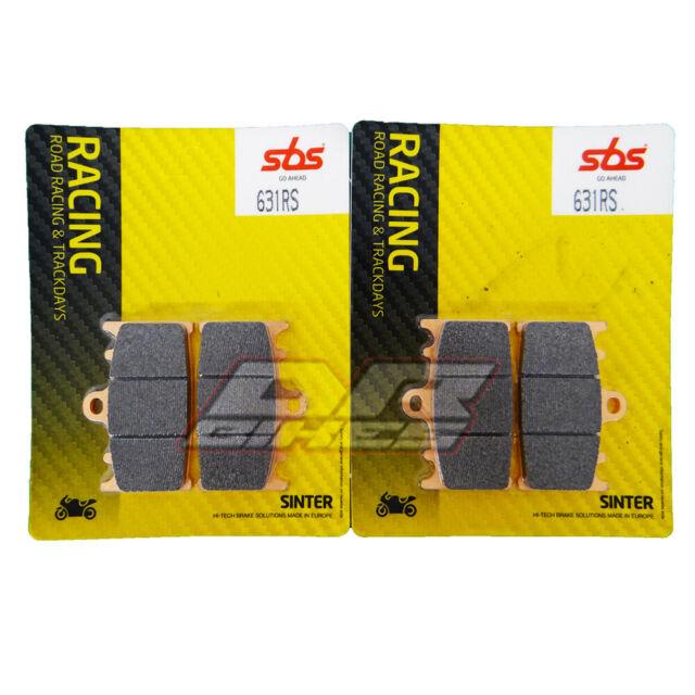 Suzuki GSR 2006 - 2010 SBS Race Sintered Front Brake Pads 631RS