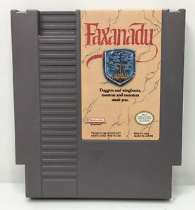 Nintendo-NES-Faxanadu-Video-Game-Cartridge-Authentic-Cleaned-Tested
