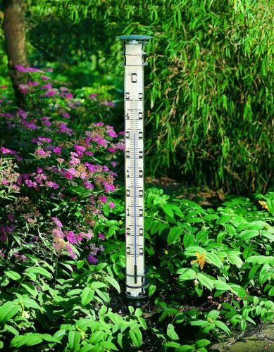 FS-TFA TFA 12.2002 JUMBO Gartenthermometer schwarz