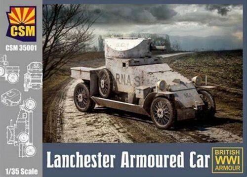 COPPERSTATEMODELS LANCASTER ARMOURED  CAR IN 1:35 TOP NEUHEIT