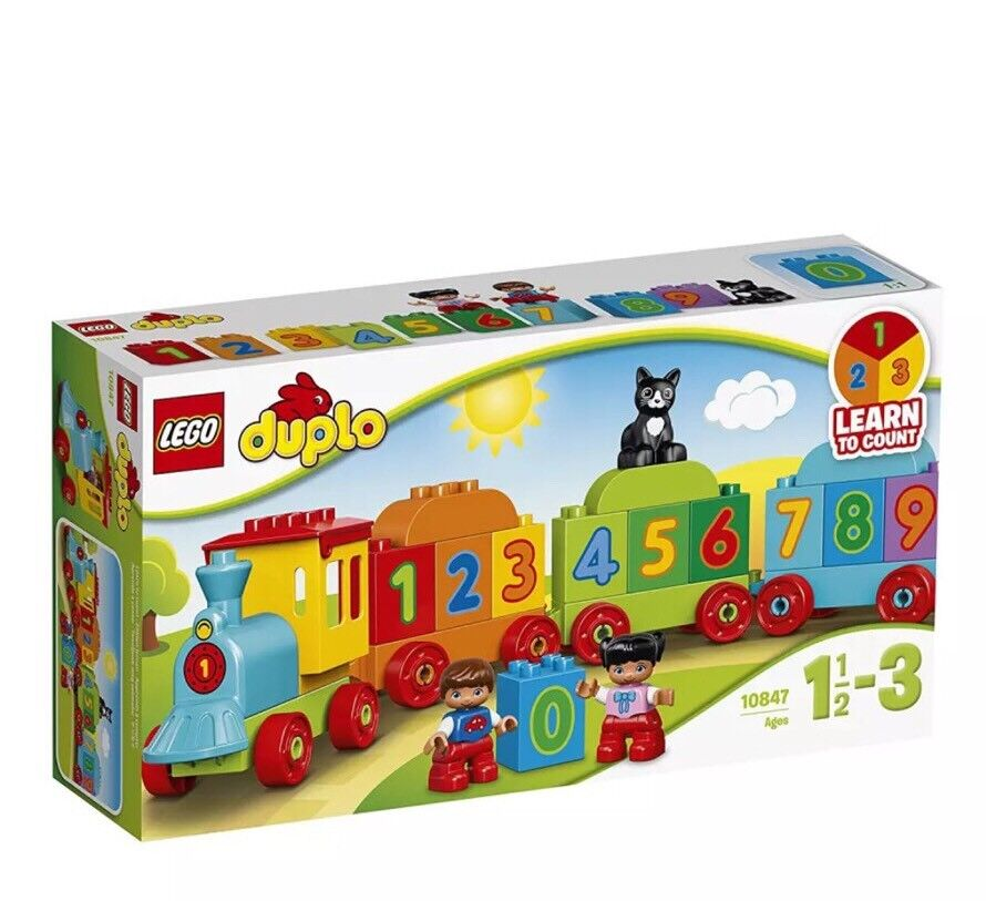 Lego 10847 duplo mon premier numéro train train train Preschool Jouet | à L'aise  e096b9