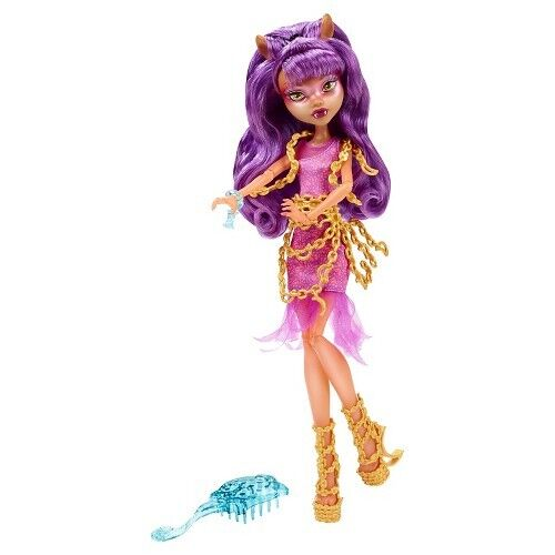 Monster High Cdc25 Haunted Getting Ghostly Clawdeen Wolf Doll For Sale Online Ebay