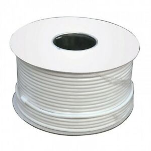 25m-White-RG6-Satellite-Digital-TV-Aerial-Coax-Cable-Coaxial-Lead-wire-virgin