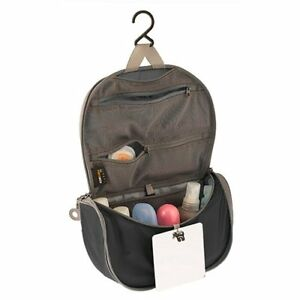 Details About Sea To Summit Travelling Light Hanging Toiletry Bag With Mirror Black X Gray