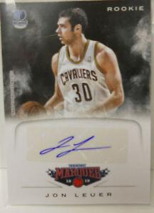 2012-13 Panini Marquee Jon Leuer Autographe Carte Rookie #77 TONwmWSF-09111425-954497548