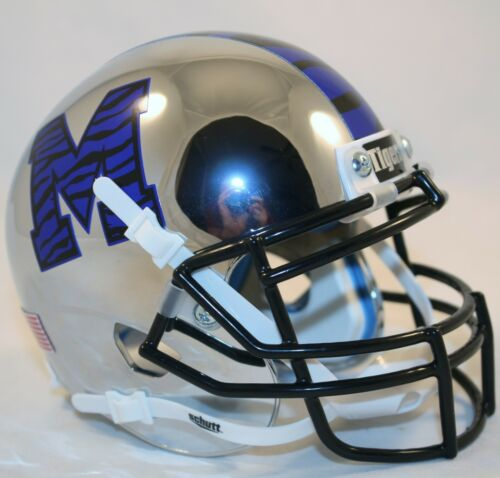 Schutt XP Mini Helmet CHROME MEMPHIS TIGERS