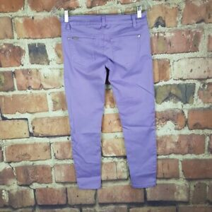 Celebrity-Pink-Womens-Jeans-Size-1-Purple-Thistle-Violet-Stretch-25-Inseam