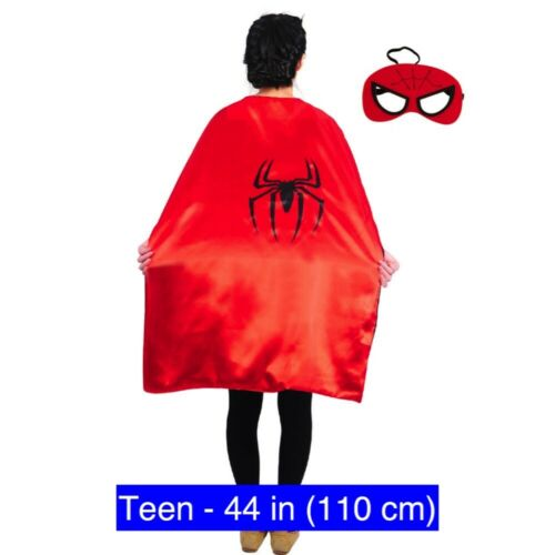 Superhero Capes Kids to Adult Sizes Costume Party Favors Halloween