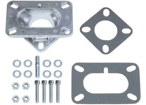 Trans Dapt 2025 1 To 2 Barrel Intake Manifold Carburetor Adapter Plate or 2 to 1
