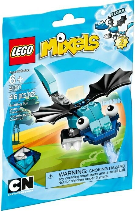 LEGO Cartoon Network Mixels Wave 2 FLURR  41511 RETIRED  BRAND NEW