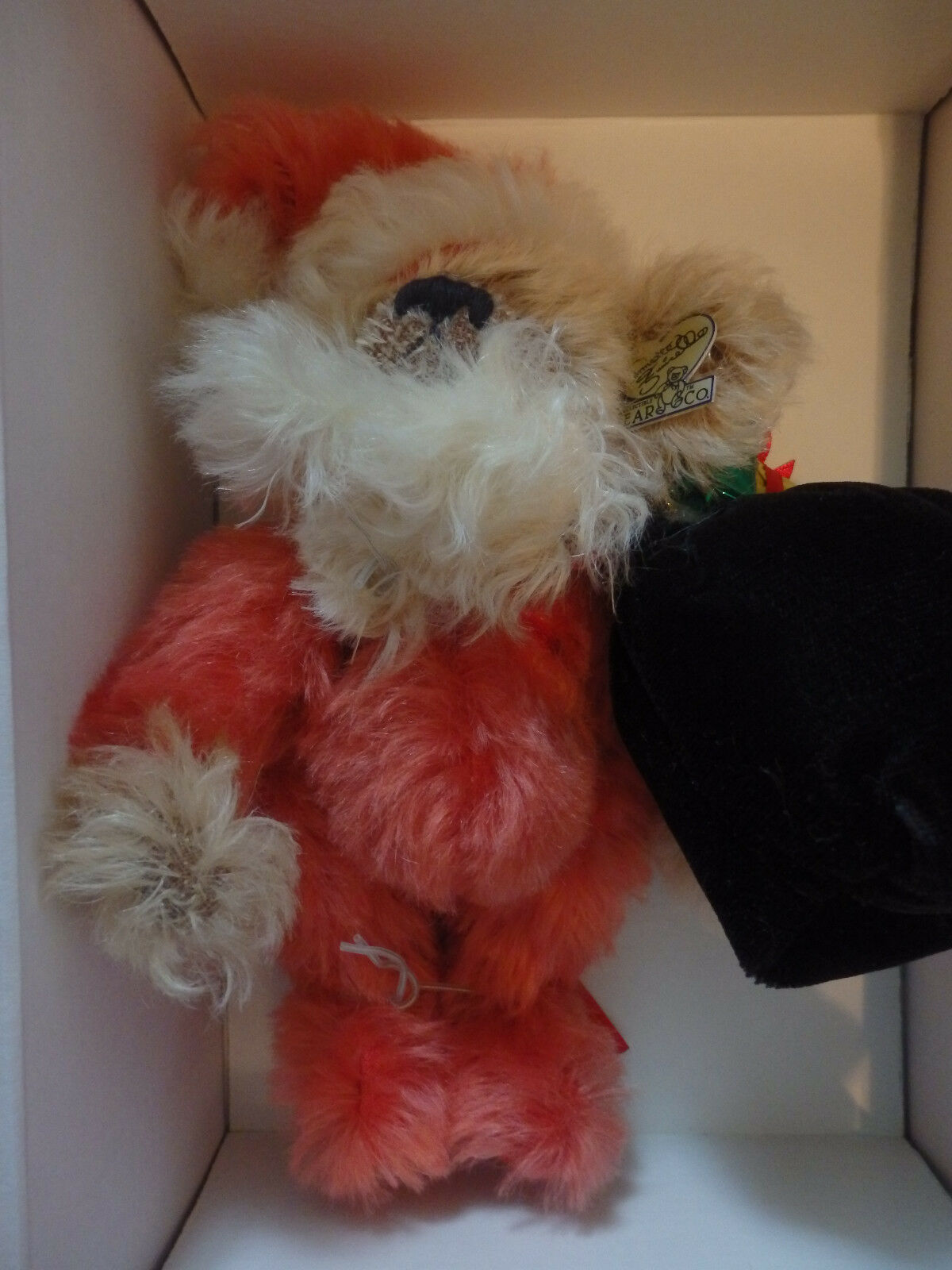 Annette Funicello Funicello Funicello Mohair Bear 'Bear Claus' 8  NIB  Missing Certificate e8663b
